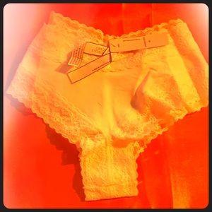 Victoria secret white panties